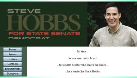 Senator Steve Hobbs