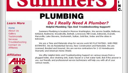 Summer's Plumbing